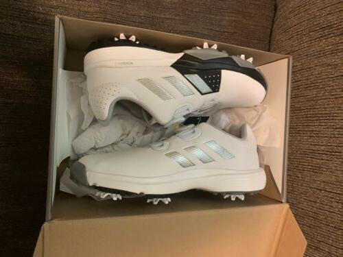 New Adidas BOA Shoes Youth White/Black