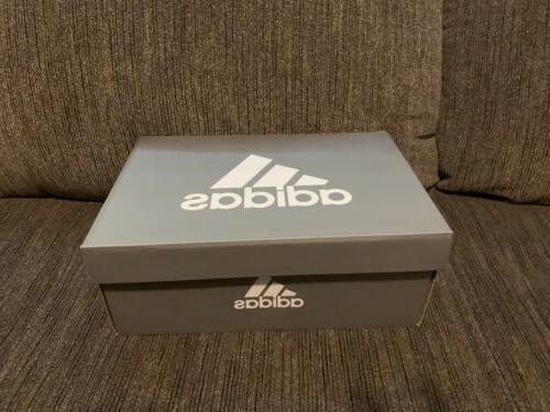 New Adidas BOA Boys Shoes Kids Junior Sz White/Black