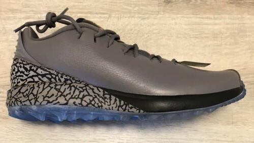 NEW Nike Air ADG Shoes Spikeless Gunsmoke Gray cleats Mens Size 10.5