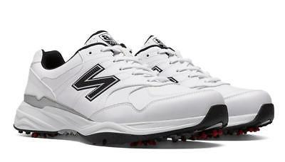 New Mens New Balance Golf 1701 Size 11 4E White/Black