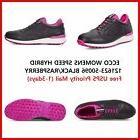New Ecco Speed Hybrid Womens Golf Shoes Black EU36 37 38 39