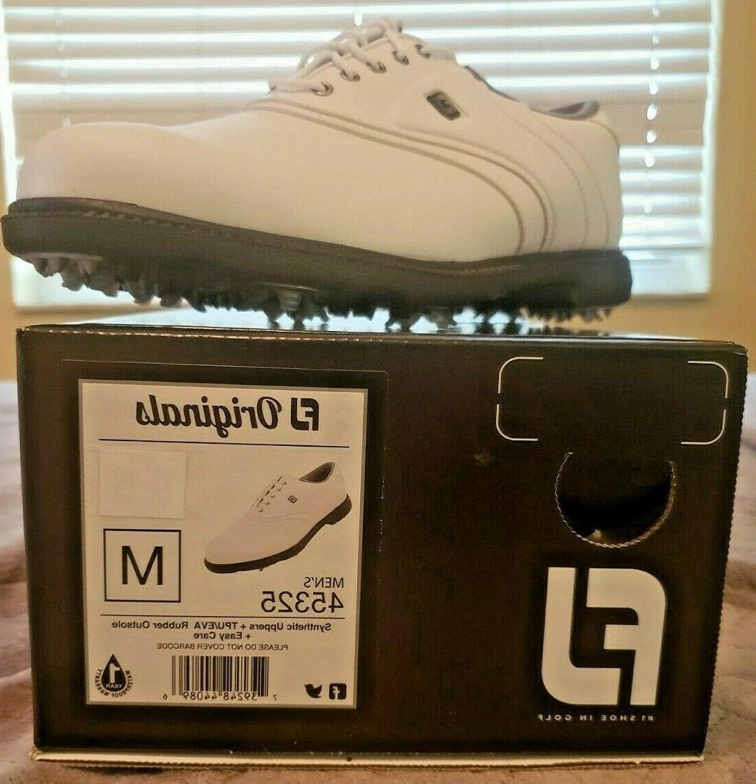 new fj original golf shoe white multiple