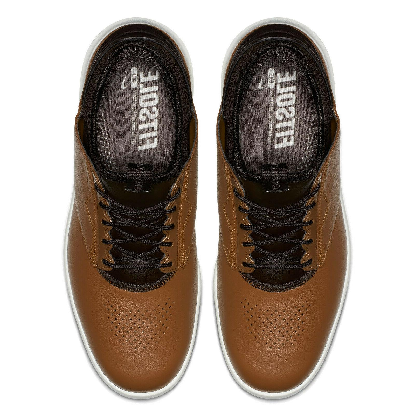 New Air Zoom Direct Mens Golfing Shoes Brown