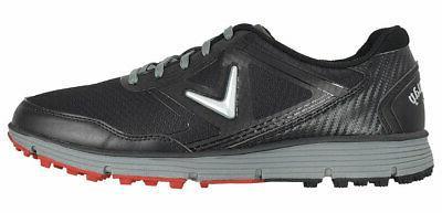 new golf balboa vent golf shoes black