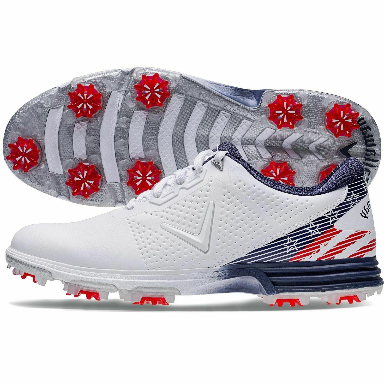new golf coronado shoes medium red white