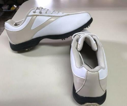 NEW! DEAL!!Callaway Shoes Womens TAN WHITE
