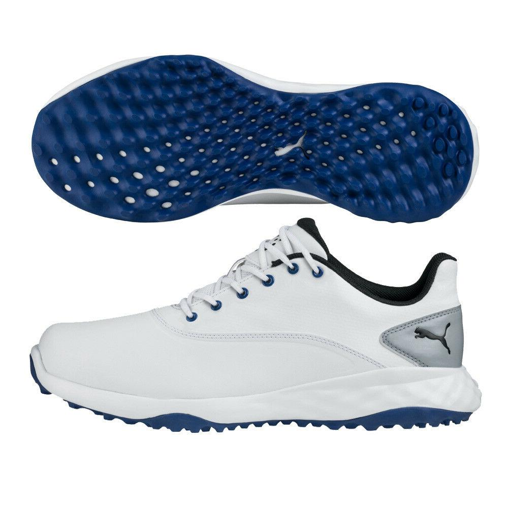 new grip fusion golf shoes white black