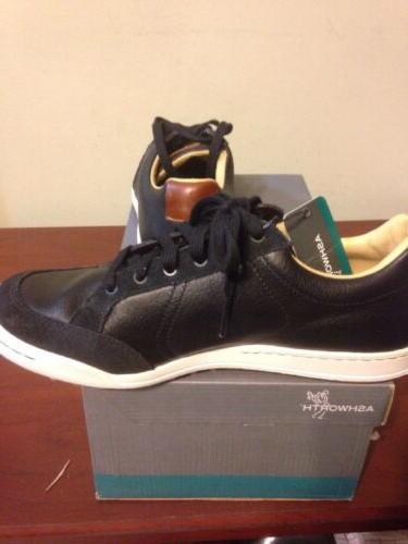 NEW In Ashworth Cardiff Medium Golf Shoes Black G54170 New
