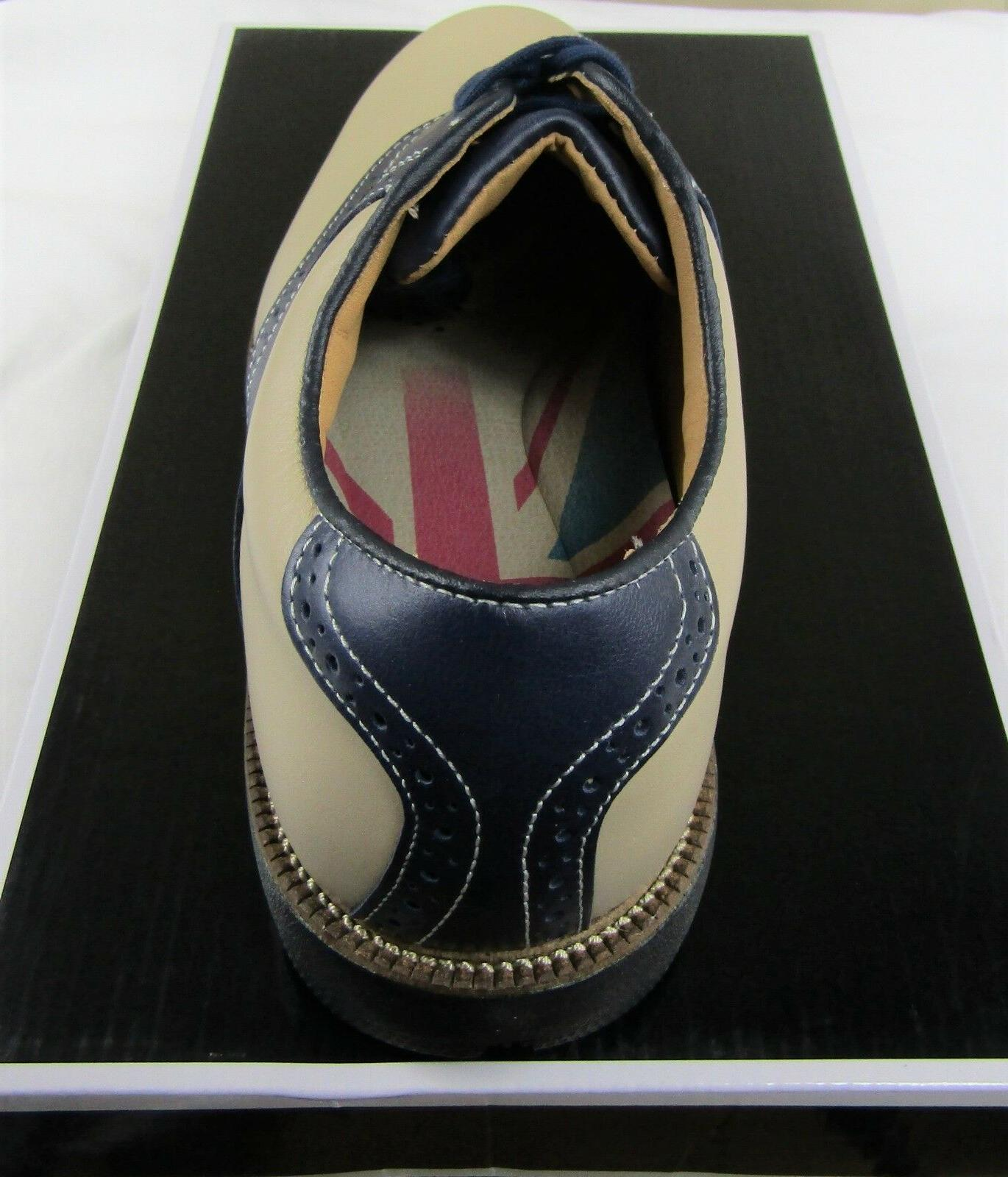 New Club Men's Golf Shoes, Bone & 57004