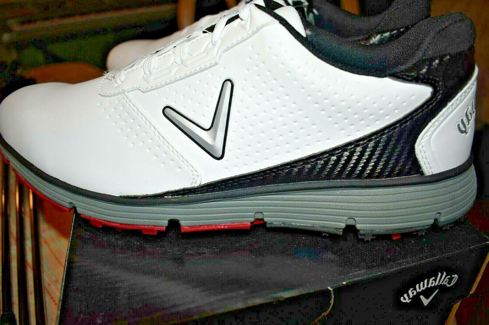 NEW in box, Golf- TRX White/Black, 13