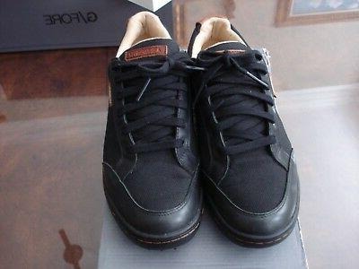 new men cardiff golf shoes black size