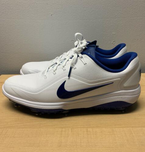 New Men's Nike Shoes Size 8.5 White & Indigo Blue