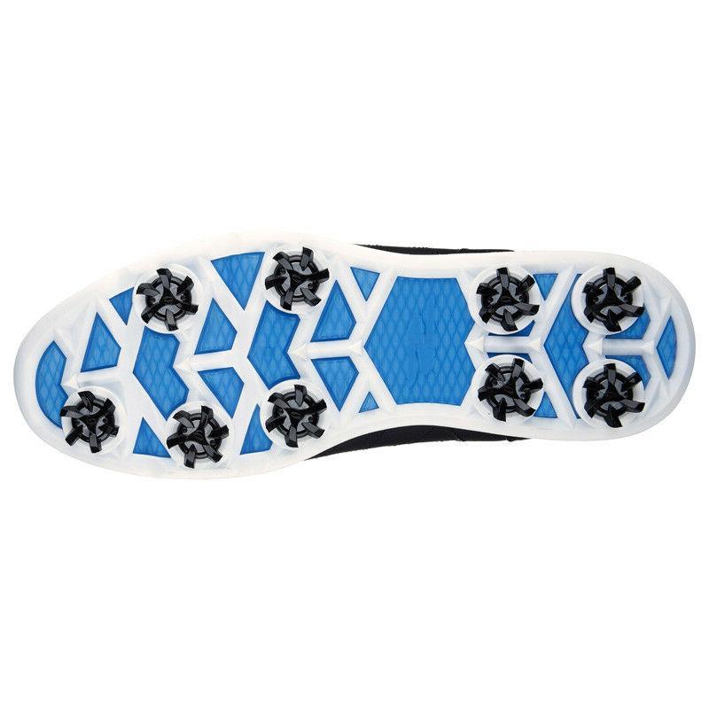 NEW MEN'S SKECHERS GOLF 2 BLACK/BLUE GOLF SHOES 54509/BKBL PICK