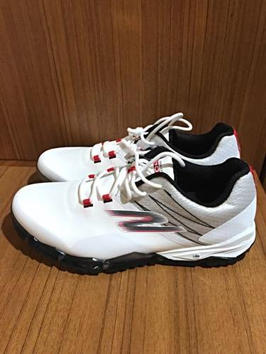 NEW Skechers Mens 10.5 Go Golf Focus Waterproof Golf Shoes W
