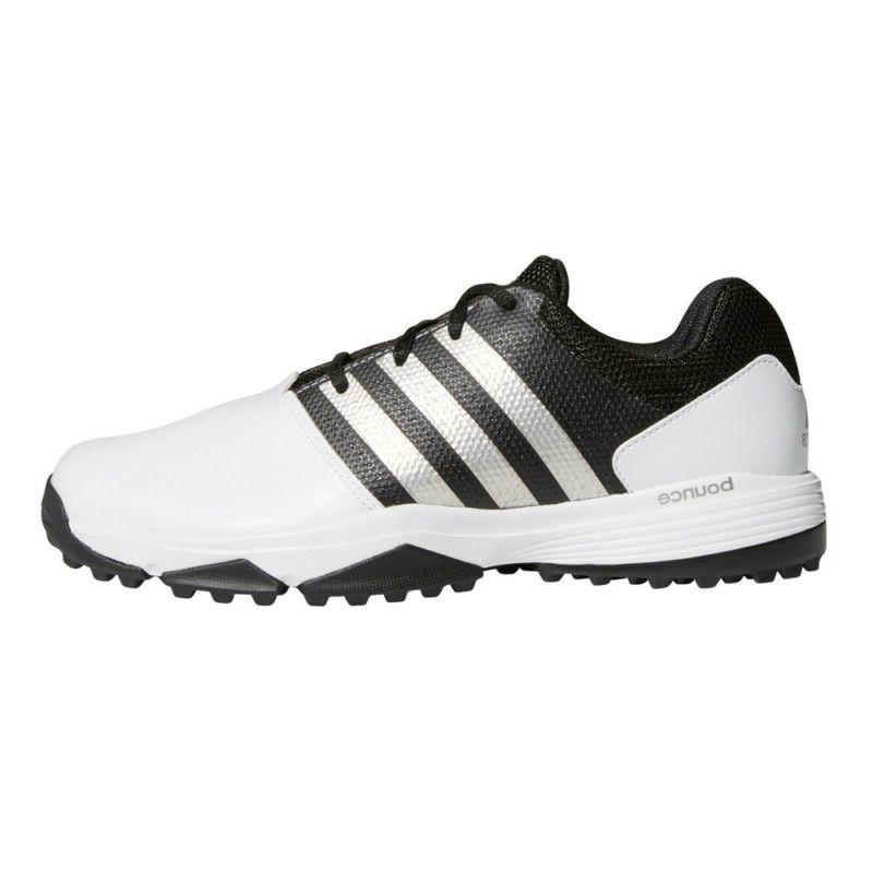 new mens 360 traxion golf shoes white