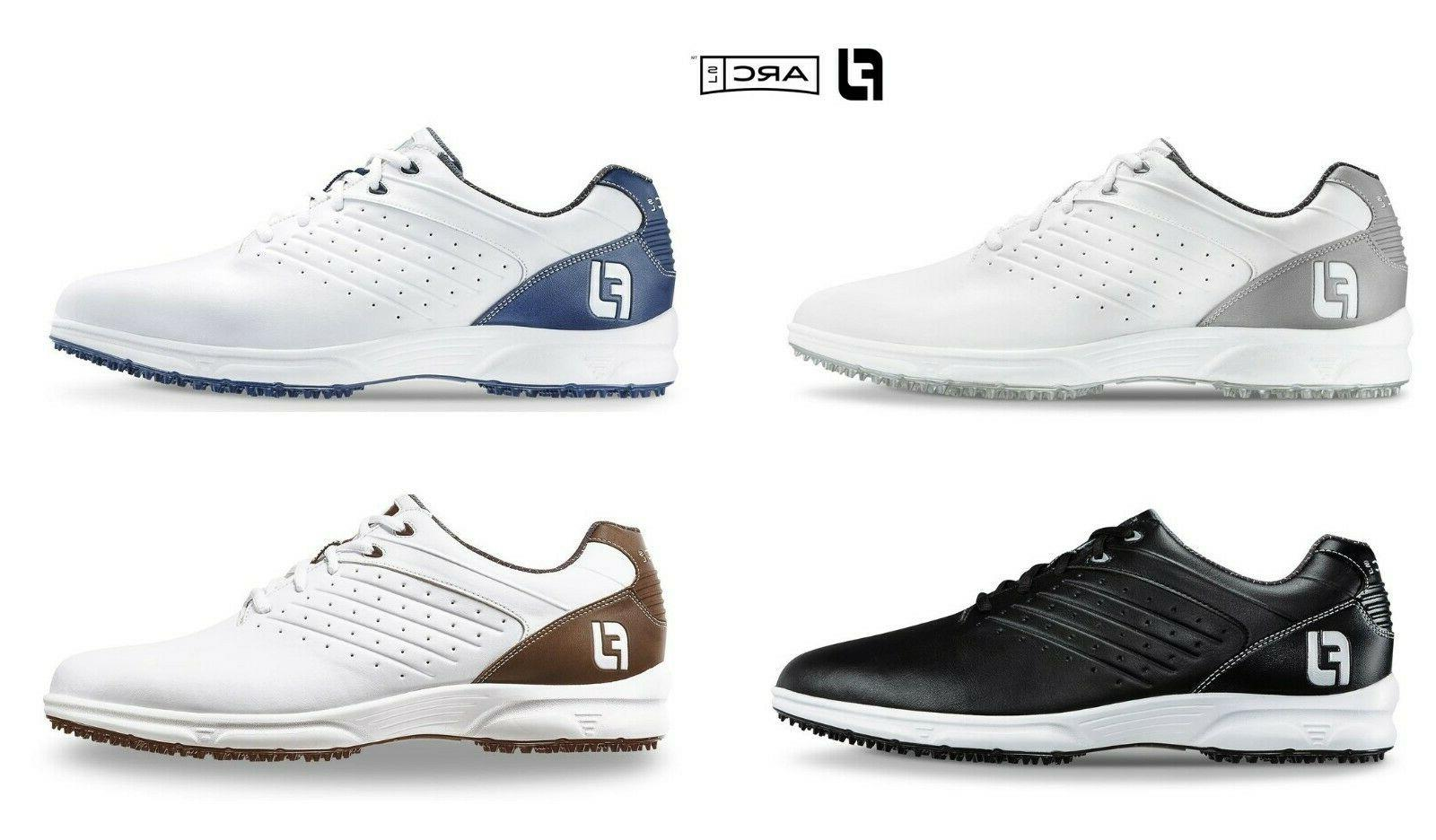 new mens arc sl spikeless golf shoes