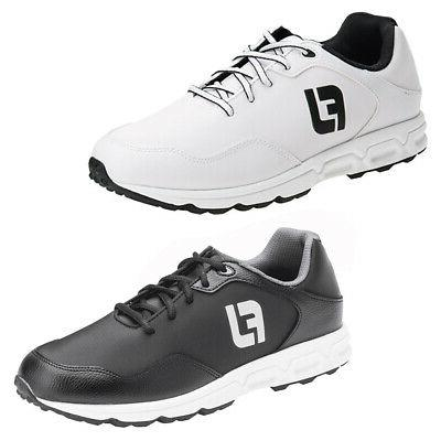 new mens athletics spikeless closeout golf shoes