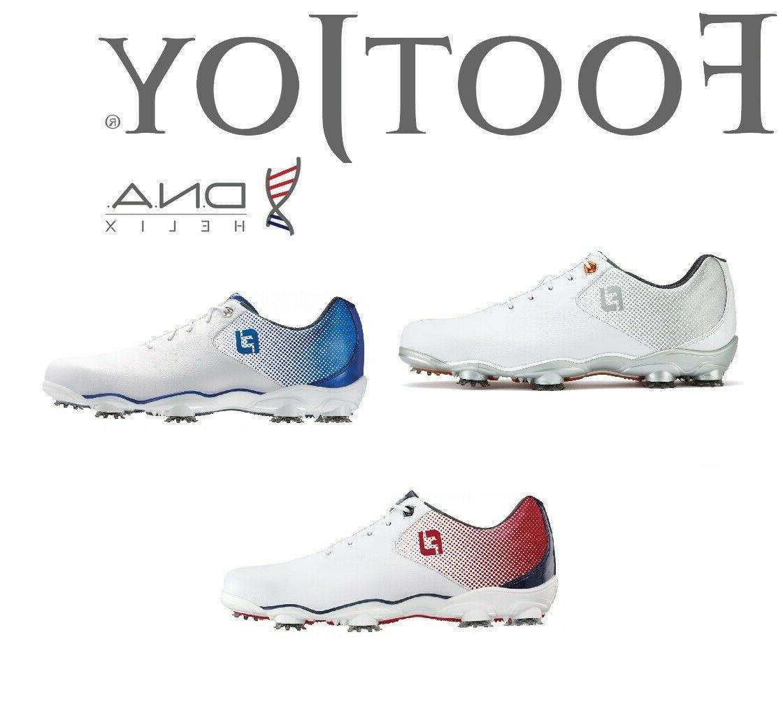 new mens dna helix golf shoes nib