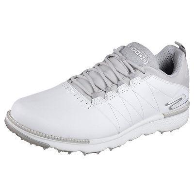 NEW Mens Skechers Go Golf Elite V3 Golf Shoes 54523 White/Gr