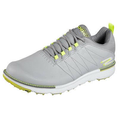 NEW Mens Skechers Go Golf Elite V3 Golf Shoes 54523 Gray/Lim