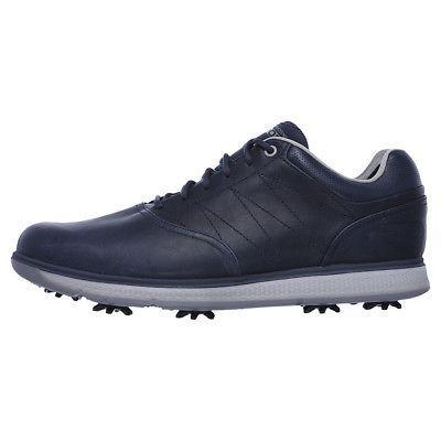 New Mens Skechers Go Golf Pro V.3 - LX Golf Shoes Navy 54511