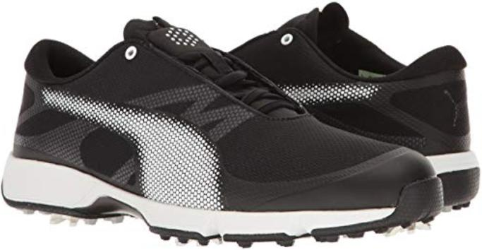 NEW Mens Puma Ignite Drive Sport Waterproof Golf Shoes - Bla
