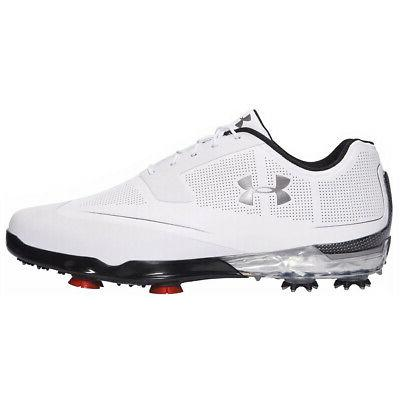 new mens tour tips golf shoes white