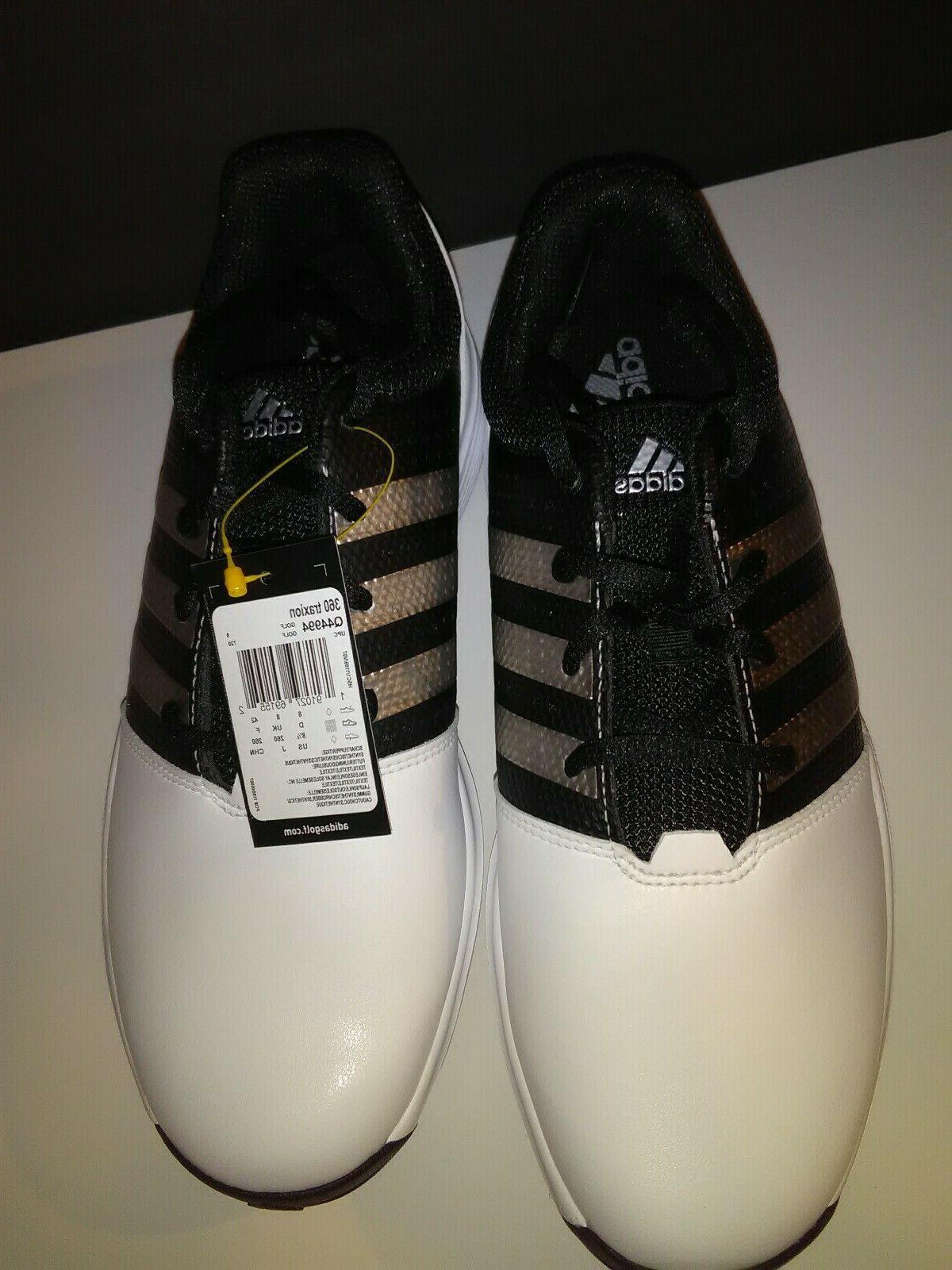 Q44994 - White/Black Size 8.5