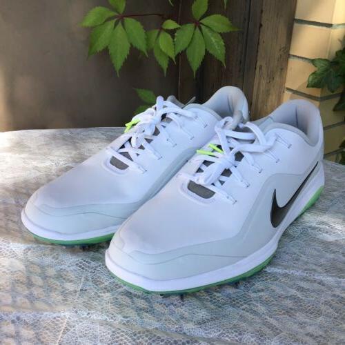 NEW React Vapor 2 Men's 11.5 White Green Glow