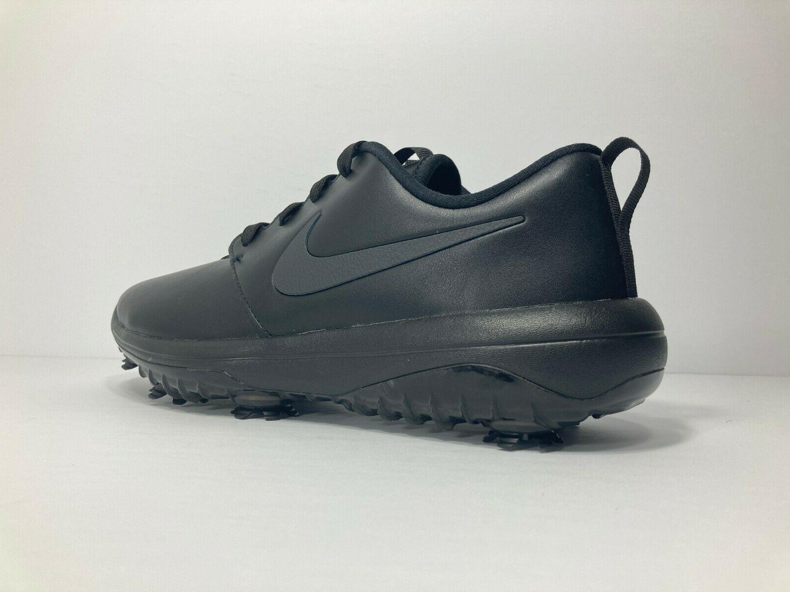 NEW Roshe G Tour Golf Shoes Triple Black 8