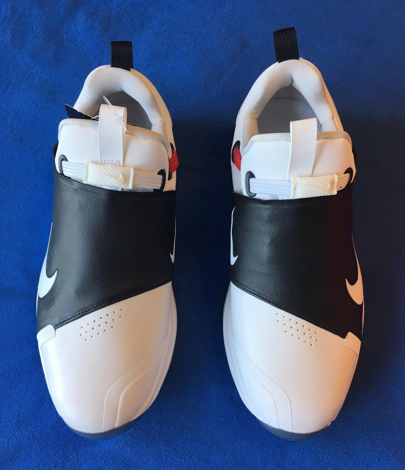 NEW Size Golf Shoes Cleats White Black