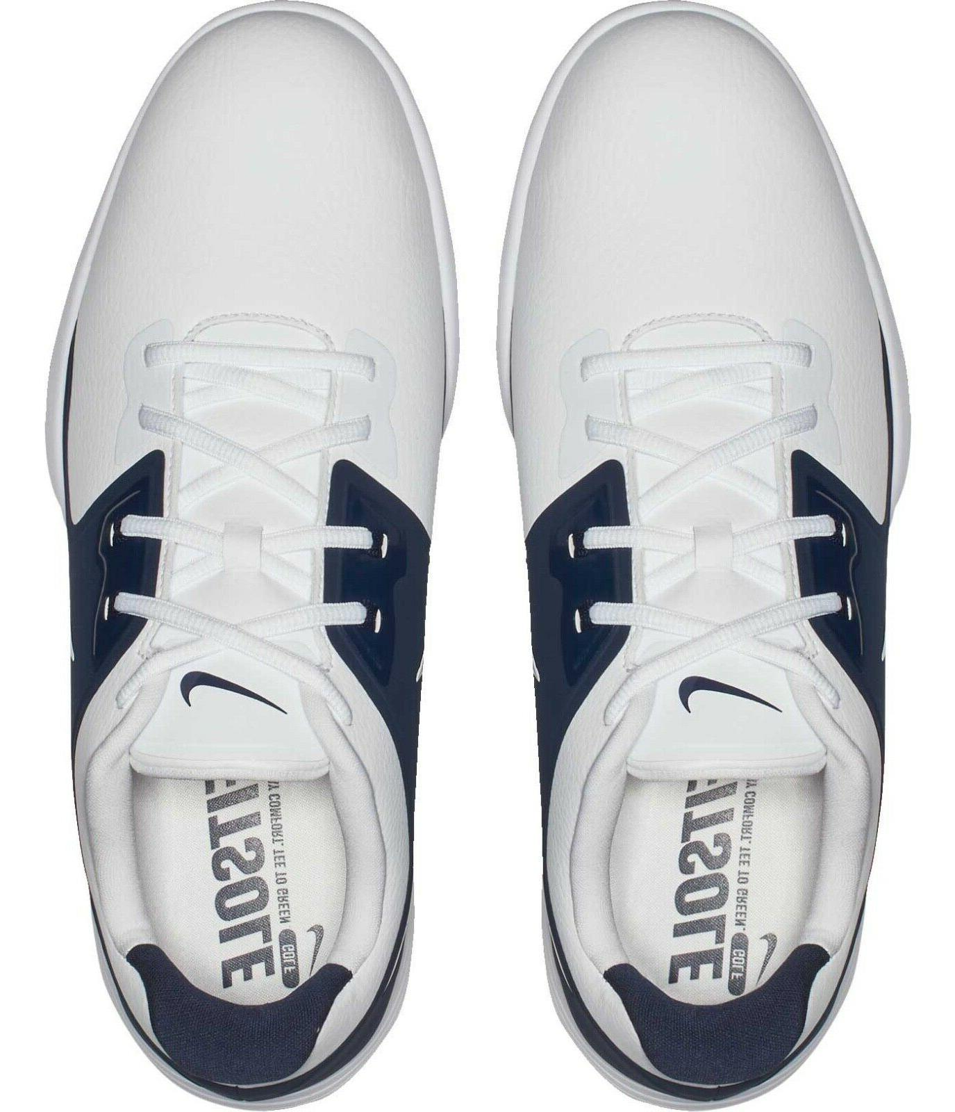 NEW PRO Wide Men's Golf Shoes White