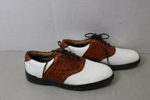 new with tags golf shoes leather mens