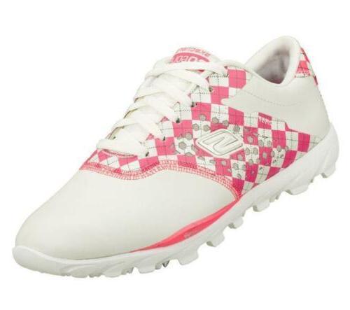 NEW Skechers Women's GOgolf Waterproof Golf Shoes 13570 Whit