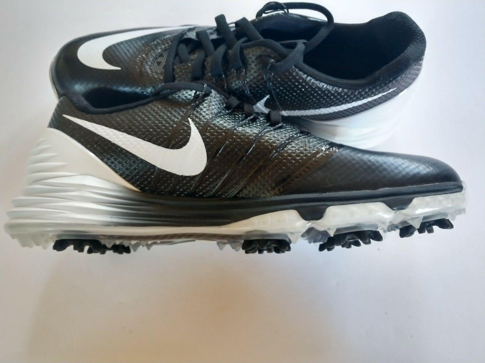 NEW Nike Women's Control Golf Black White size 7.5