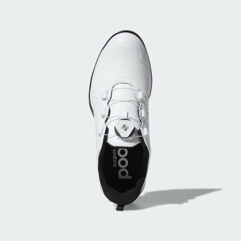 NEW ADIDAS ADIPOWER BOOST GOLF SHOES WHITE A SIZE