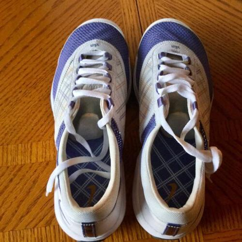 NEW Nike Summer Shoes White Lavender 8