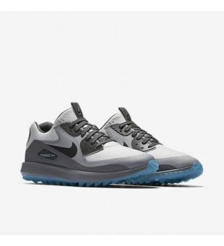 New Nike Zoom 90 It Men's Golf Shoes Pure Platinum/Grey 8445