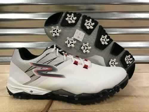 Skechers Performance Go Golf Focus Golf Shoes Spikes White R