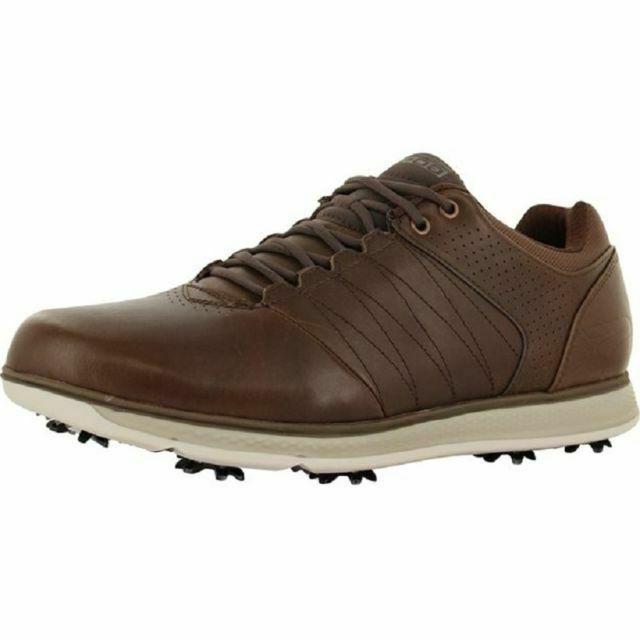 Skechers Men's Go Golf Pro 2 LX Shoes Chocolate 54510/CHOC