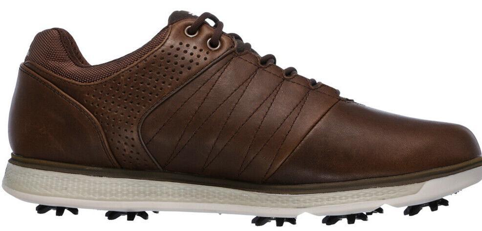 Skechers Men's Golf 54510 Chocolate Brown 10