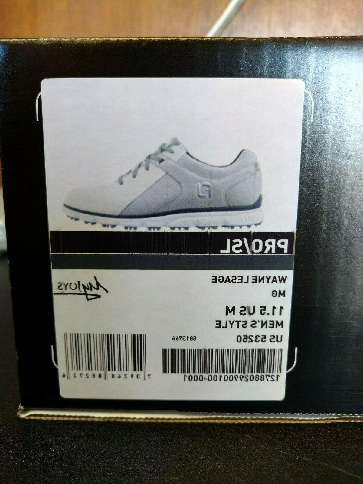 FootJoy SL Golf Shoes Men's New size Men's US