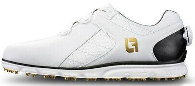 pro sl boa spikeless golf shoes white