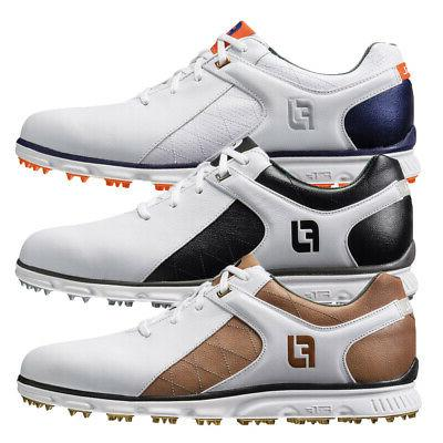 pro sl spikeless waterproof leather golf shoes