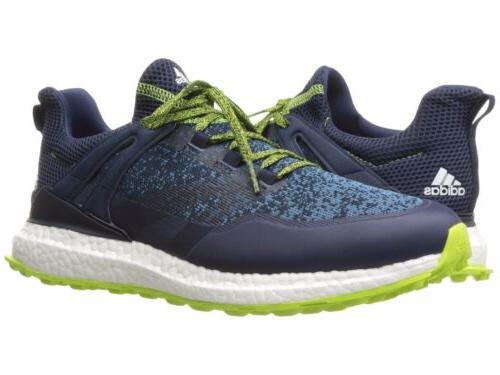 Mens Adidas Ultra Crossknit Boost Golf Sneakers - Navy Blue