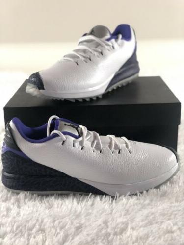 rare adg dark concord cement golf shoes