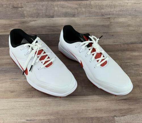 Nike React Golf Shoes Red Sz 11