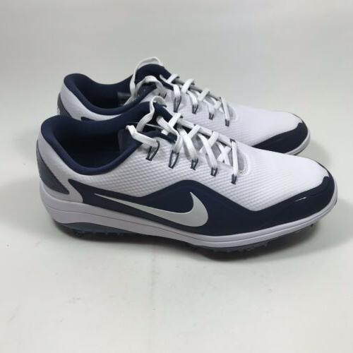 Nike 2 Men's 9.5 Metallic White Navy