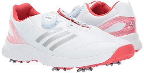 adidas Womens Response FTWR White/Silver 6.5