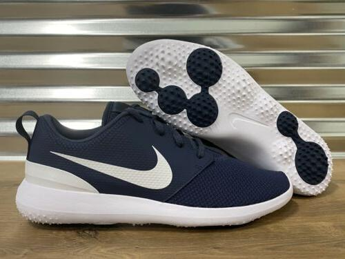 roshe g golf shoes navy blue white